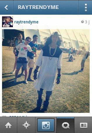 Ray-Ray a Cochella!!