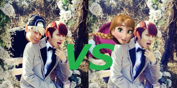 OS Heechul x GunHee : Tu ne pourrais pas un peu arrêter avec Anna ?