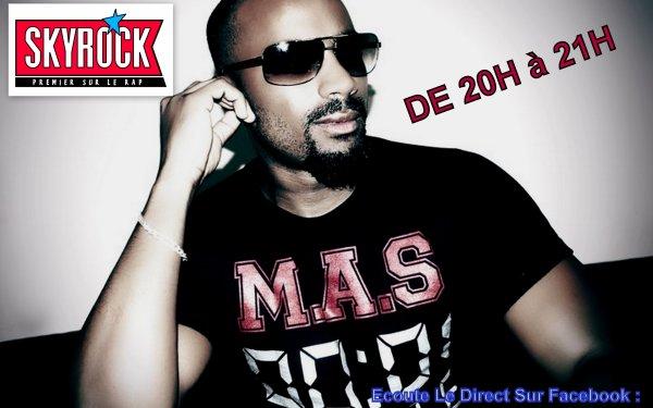 Je Suis a Skyrock Ce Soir Pour le Planete Rap De La Fouine !!