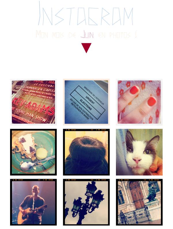 58 : Mon instagram de Juin