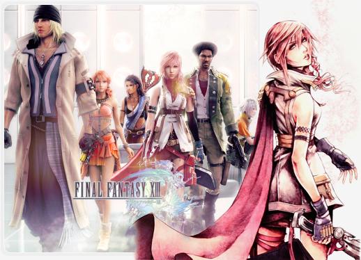 Les Personnages de Final Fantasy XIII