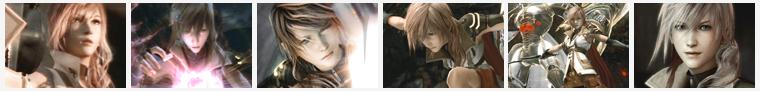 Fiche personnage : Lightning FFXIII