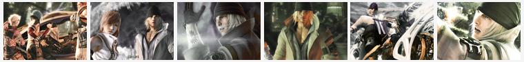 Fiche personnage : Snow FFXIII