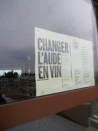 Quand l'Aude se change en Vin...