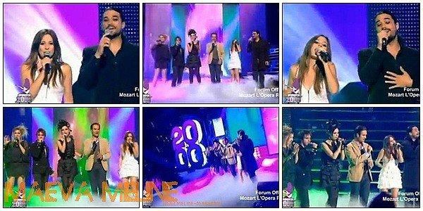 """.2 Juillet :  La Troupe faisaient leur dernier passage TV dans l'emission """"Generation 2000"""" sur TF1  ."""