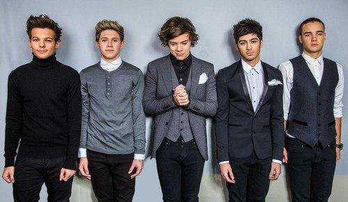 One Direction : leur photoshoot au Bambi Awards