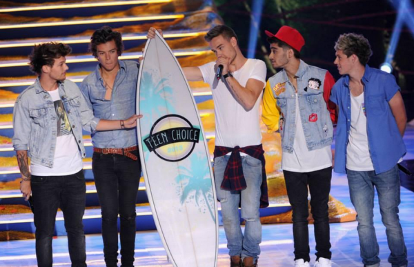 Toutes les photos des One Direction aux Teen Choice Awards 2013 !