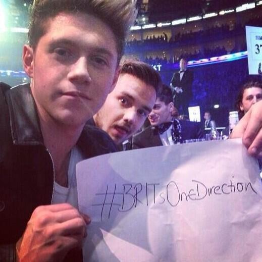 Photos des boys à la cérémonie des BRITs 2014 :)