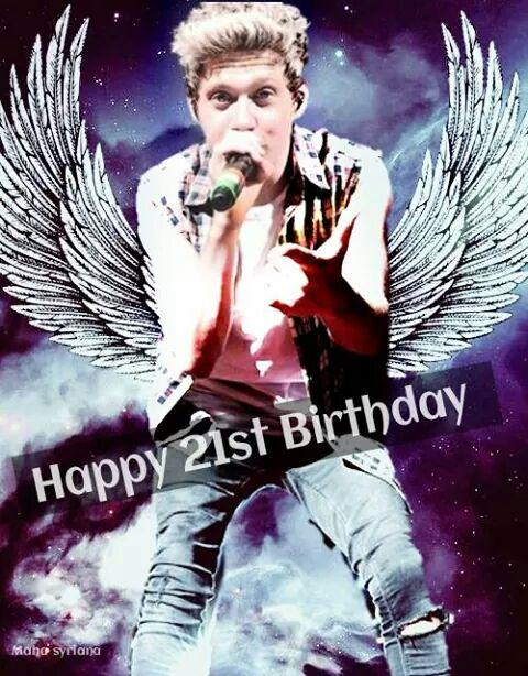Happy Birthday Niall • 21 years old
