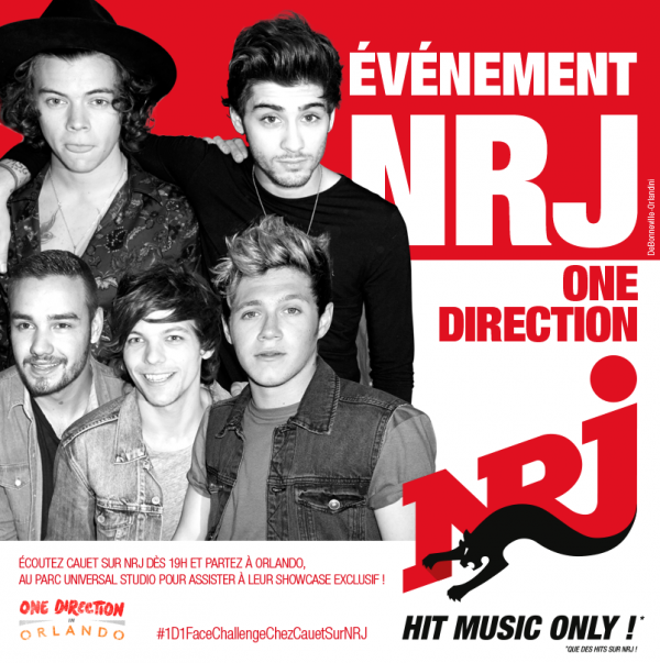 Les One Direction à Orlando ! NRJ