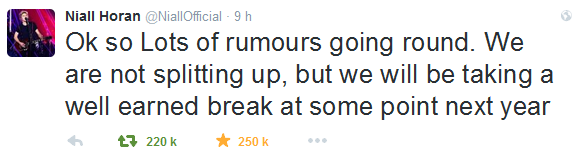 """We are not splitting up"" Niall Horan ! Le point sur les rumeurs !"