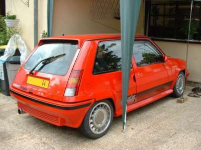 renault 5 gt turbo phase 2 renault sport. Black Bedroom Furniture Sets. Home Design Ideas