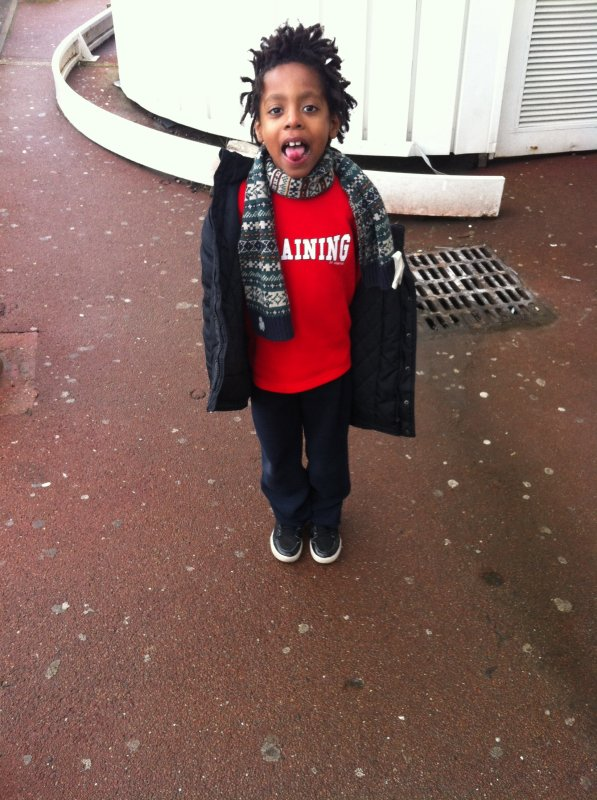 Sorti avec mon neveu ❤️😜👍