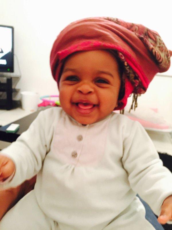 Oui ma petite souri sois fière d'être africaine 😍😍😍😍