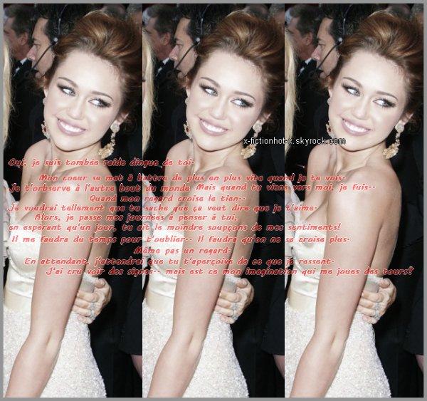Hors Série 01 - Un petit extrait du journal de Miley Cyrus bien avant que Miley et Mitch se soient embrassé..