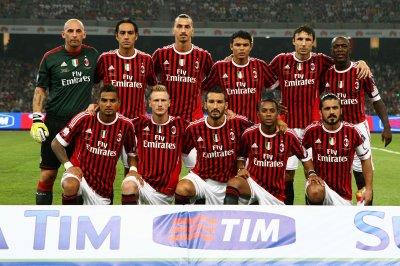 tenue de foot AC Milan ÉQUIPE