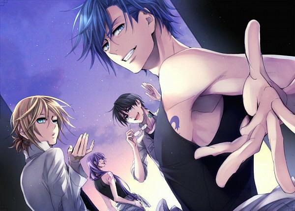 Que de beau gosse cher les Vocaloid *-*