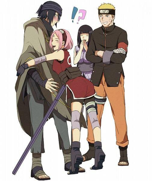 Cette image est trop cute surtout sasuke *-*