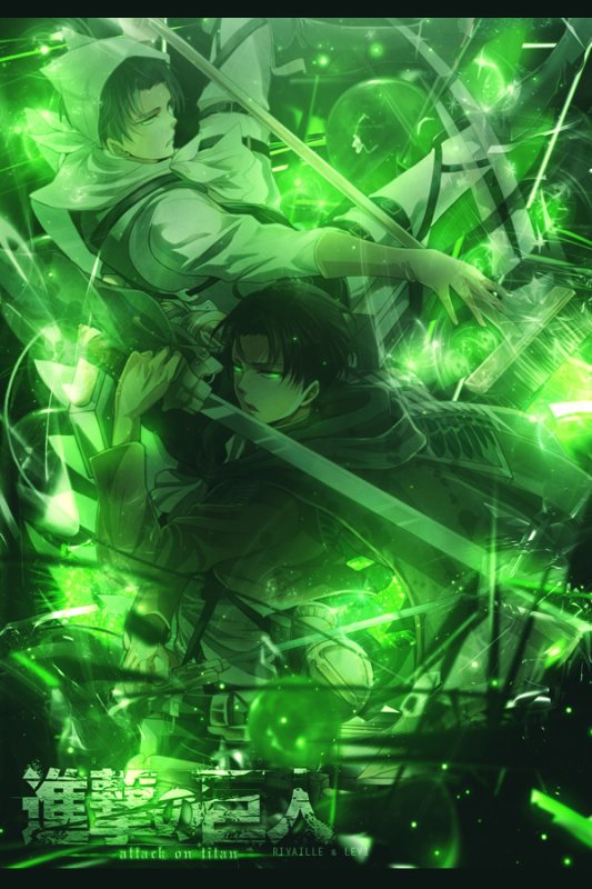 Armin et Levï ou les BG de Shingeki no kyojin *o*