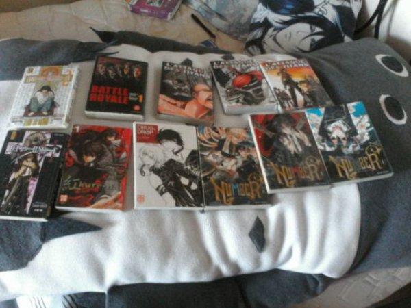 Quand je vais a la bibliothèque emprunter  des mangas je fait pas semblent MDR