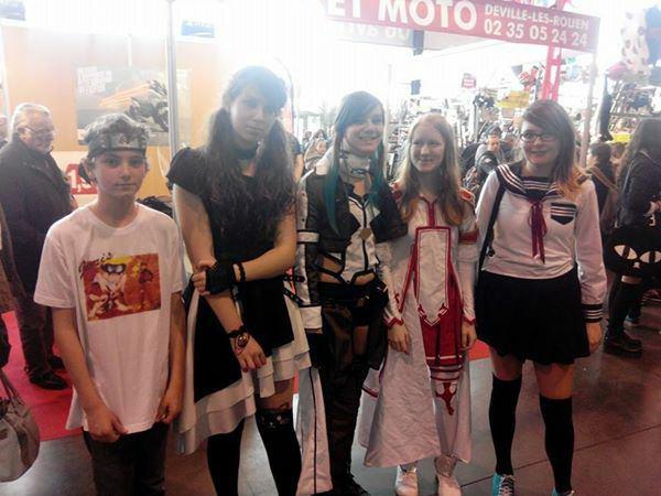 Foire expo de Rouen sur le thème du Japon ^_^