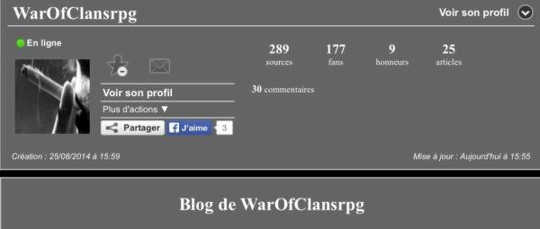 Suivez http://warofclansrpg.skyrock.com/ !!!