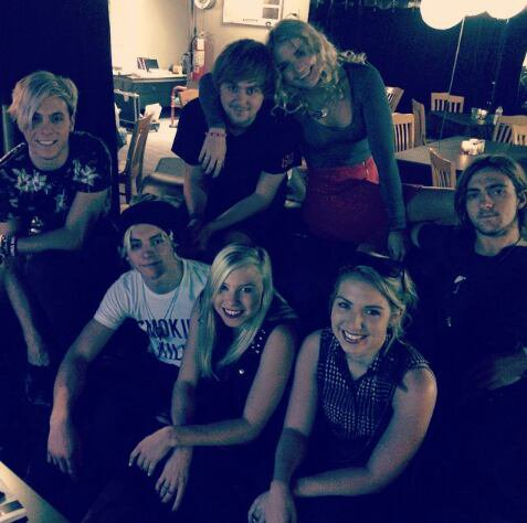 R5 ❤ with a friends.