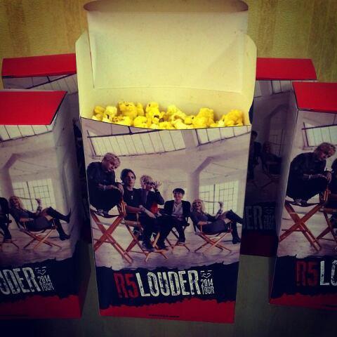 R5 Popcorn! ❤