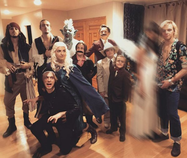 R5 yesterday for Halloween. ❤ #1