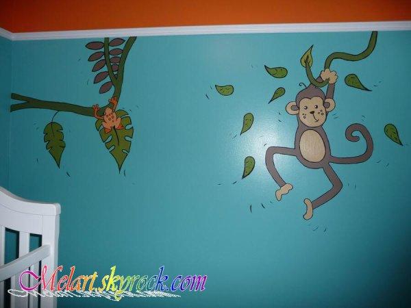Peinture Sur Mur ( Chambre D'Enfant ) - Mélart