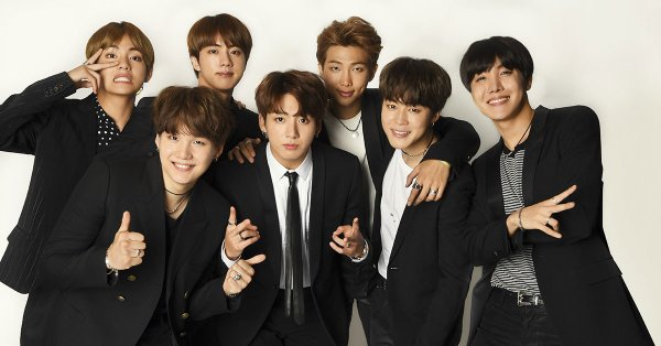 Présentation du groupe : BTS (Bangtan Sonyeondan)