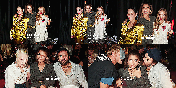 *       ---------- 03/10/15 •  AU HUNGER MAGAZINE SHOW PENDANT LA FASHION WEEK A PARIS .    *