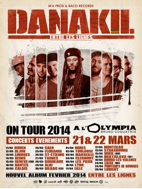 Concerts évènements Danakil
