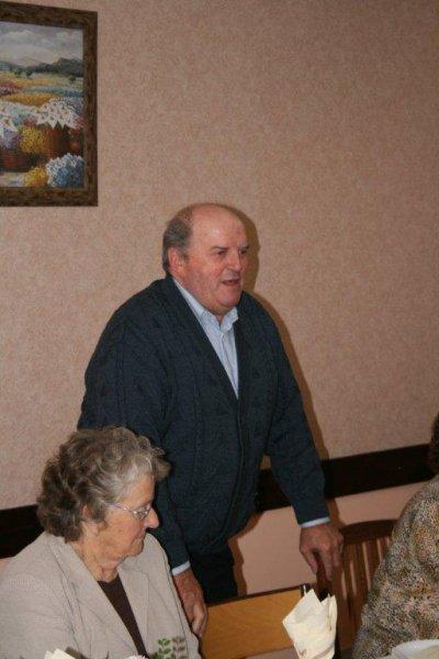 Le 11 novembre 2010, Monsieur le Maire de Louppy (PIERROT) fait son discours.