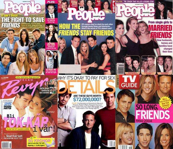 Les couvertures magazines