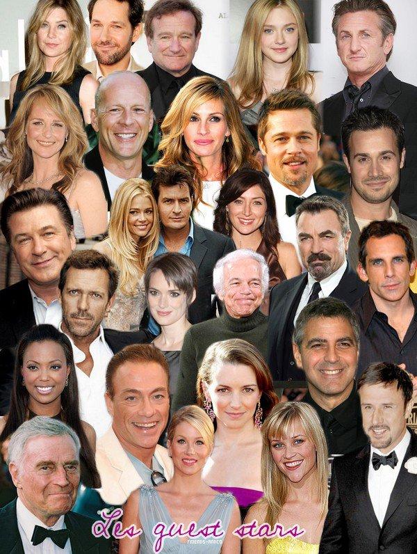 Les guest stars