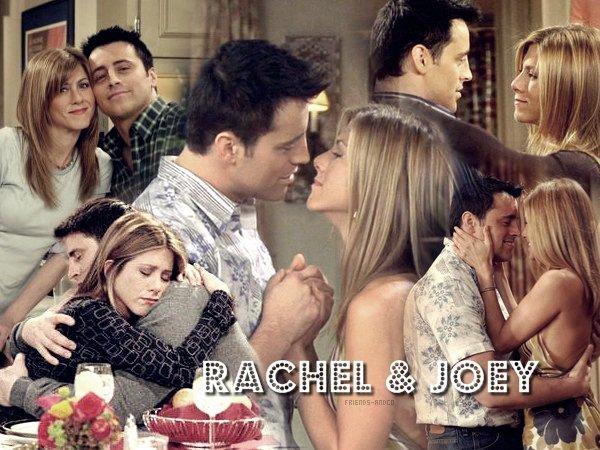 Rachel & Joey Chandler : Dis, t'as souvent fait l'amour toi ?- Joey : Quoi ? Tu veux dire aujourd'hui ?... Oh pas tant que ça.