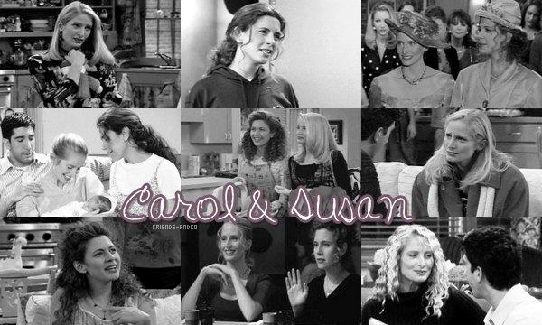 Carol & Susan Ross : (Il prend un livre et le regarde.) Bill, le crocodile ! Un classique ! - Susan : En fait, je le lis au bébé. - Ross : Le bébé qui n'est pas encore né ? Ça veut dire que tu es... folle ?