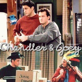 Chandler & Joey Chandler : Moi si j'étais un homme... Attendez j'ai dit « si j'étais un homme » ?