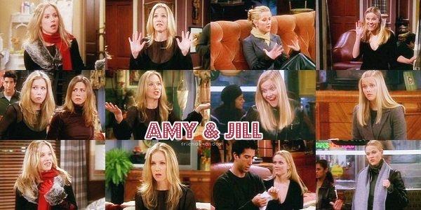 Amy & Jill Green Amy : ... sans cette stupide Jill, qui en passant a pris 7 kilos - [...] - Rachel : Mon Dieu, je pensais qu'elle faisait un régime. - Amy : C'était le cas. Ca n'a pas marché. Tu vois ? C'est ce que je voulais... Deux s½urs parlant de choses importantes