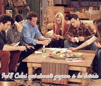 """Saison 9 Episode 18 Ross : """"Gleba"""" n'est pas un mot - Rachel : Si ! - Ross : Utilise le dans une phrase - Rachel : Ba """"Emma vient de dire Gleba"""""""