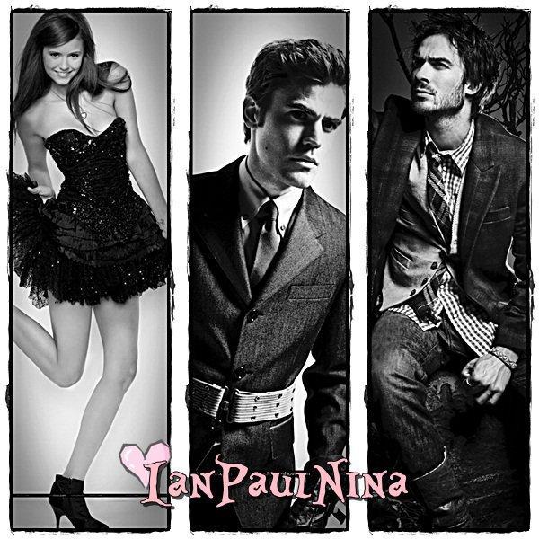 • Bienvenue sur IanPaulNina, ta nouvelle source sur Vampire Diaries !