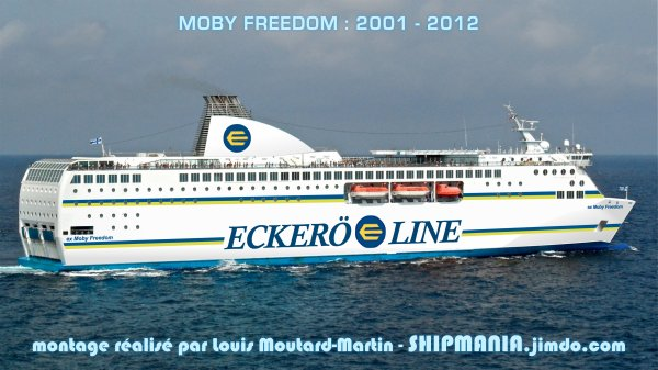 le Moby Freedom vendu à Eckerö Line