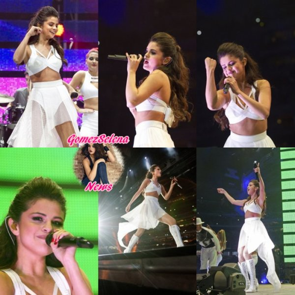 09.03.2014: Selena a donnée un concert à RodeoHouston