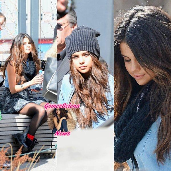 11.03.2014: Selena s'est rendue à New-York pour faire un photoshoot pour NEO Adidas