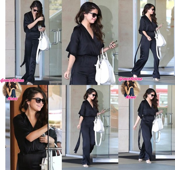 04.04.2014:Selena se rends au bureau de son avocats, à Los Angeles.