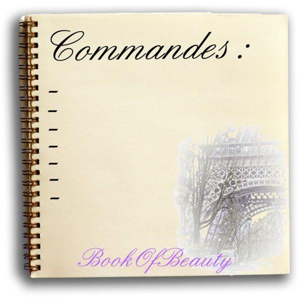 Commandes...