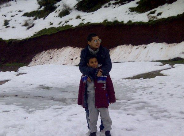 moi et le fils de ma soeur :D