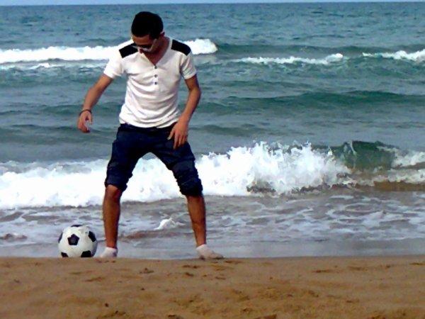 Moi avec le foot