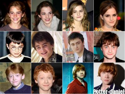 Acteurs d'harry potter. qui préfère tu et en quelle année ????